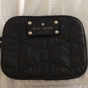 Kate Spade quilted makeup bag